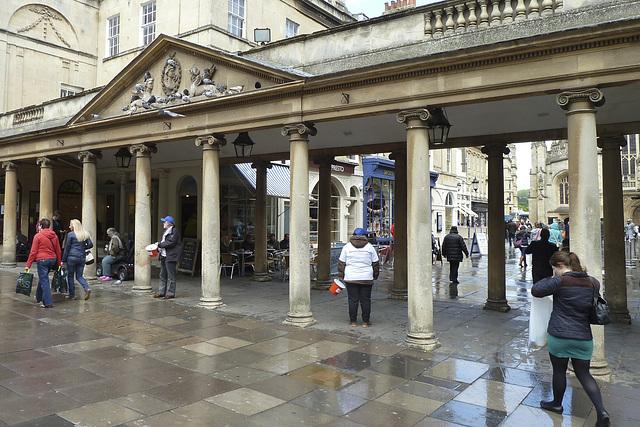 Bath 2013 – Entrance to the Roman Baths