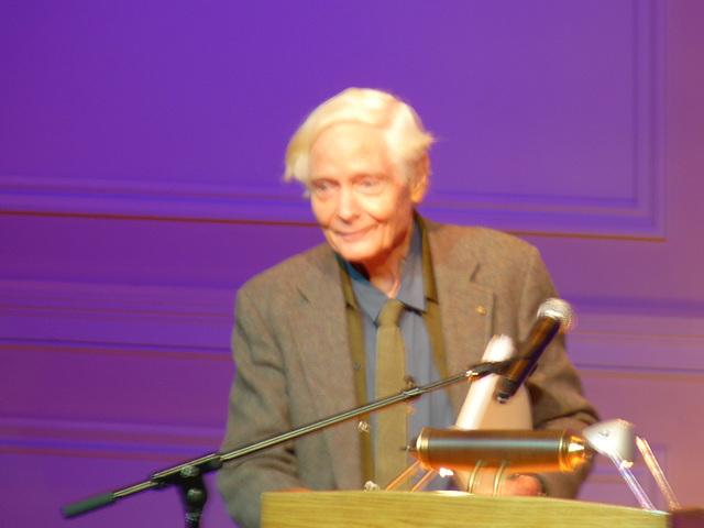 Poet Laureate, W.S. Merwin