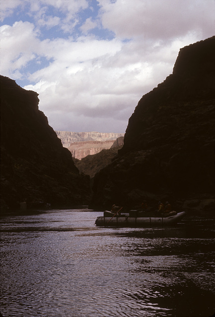 Boat and Canyon
