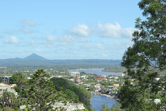 View to Mt Cooroy