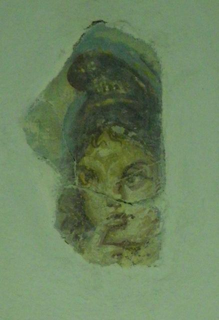 Sirmium : fresque représentant le dieu Harpocrate