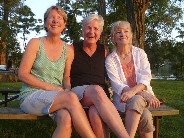 Ladies At The Lake