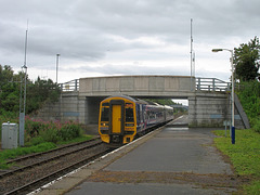 158707 powers away from Dingwall