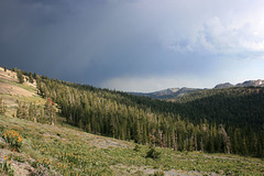 Thunderstorm on the PCT
