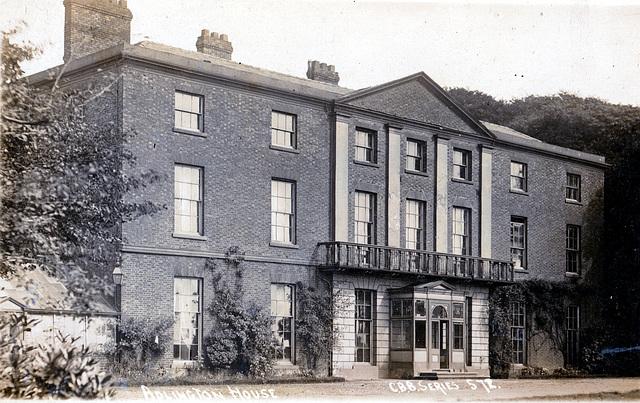 Adlington House, Lancashire (demolished)