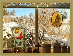 Our kitchen window.