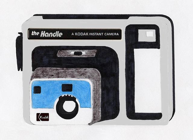 Kodak Handle Instant Camera