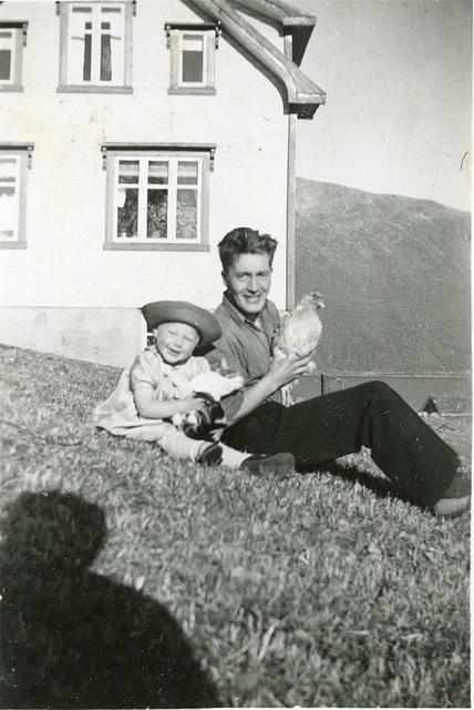 (518) Arne Slettnes, (kanskje m/datter?)