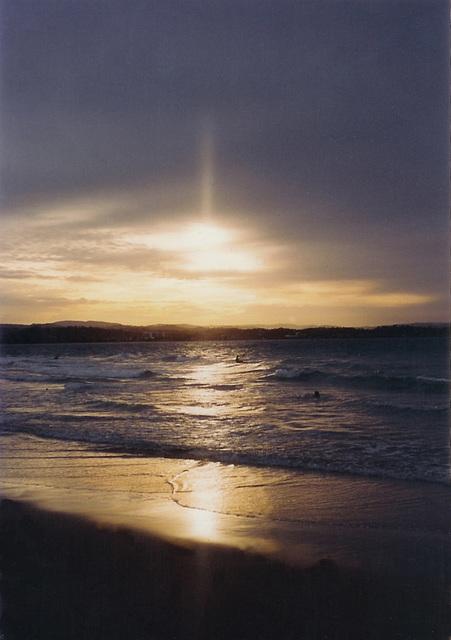 Sunset Surfing Australia