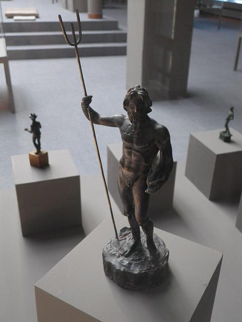 Musée de Kladovo : figurine de Poséidon.