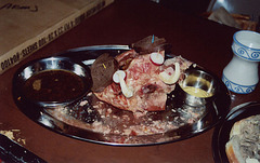 The Boar's Head for Feast at East Kingdom Twelfth Night, Jan. 2006