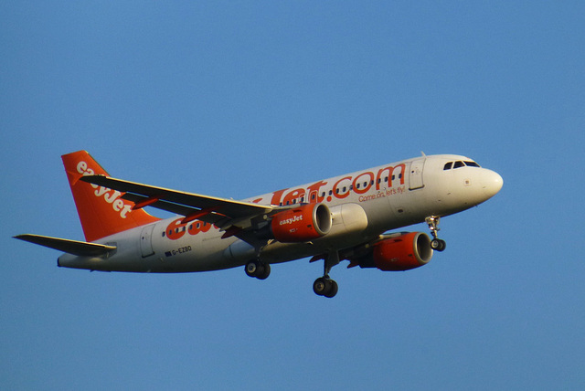 G-EZBD at Gatwick - 3 September 2013