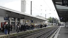 BESANCON: Arrivé de la 241P17 en gare de Besançon Viotte le   26 mai 2013.