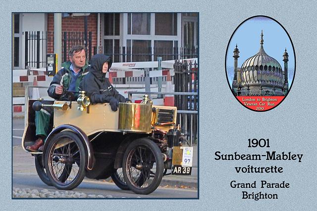 1901 Sunbeam-Mabley voiturette AR 39