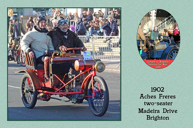 1902 Aches Freres two-seater  GAG 156