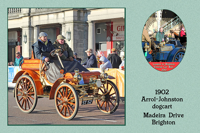 1902 Arrol-Johnston dogcart ST 52