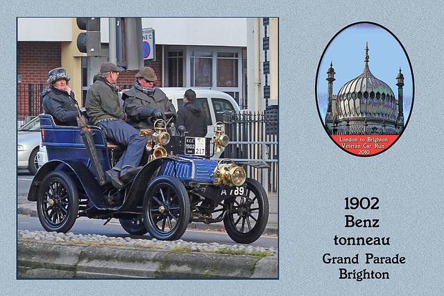 1902 Benz tonneau A789