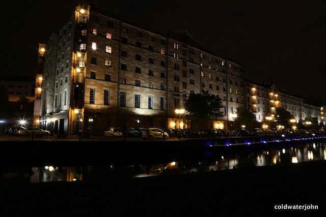 Speirs Wharf  late evening