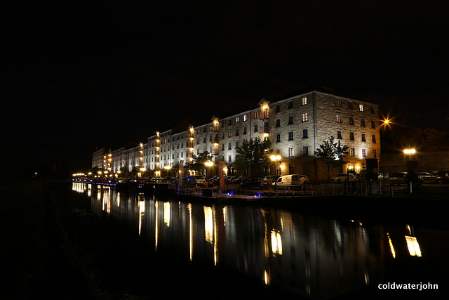 Speirs Wharf - Night Images: late evening