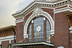 Yonkers Train Station at Sunset – Buena Vista Street, Yonkers, New York