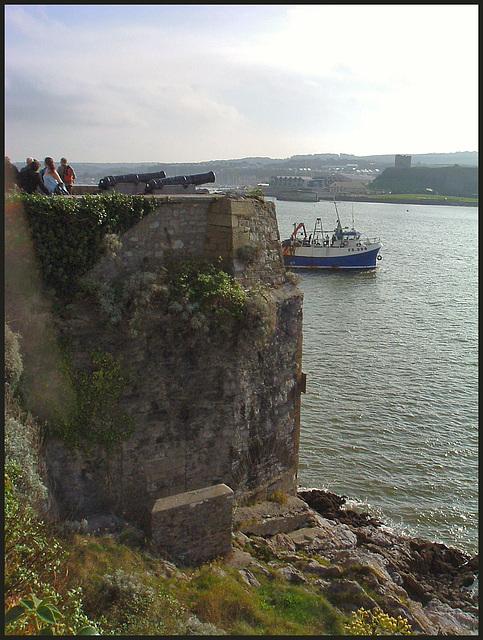 Plymouth Hoe sea defences