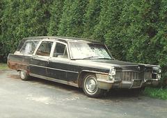 1965 Cadillac Superior Hearse