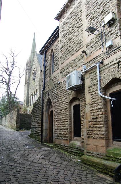 Former Baptist Chapel and abandoned School, Accrington, Lancashire