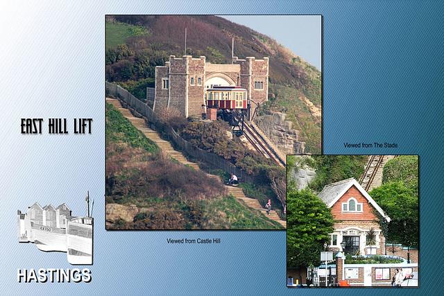 East Hill Lift Hastings 23 3 2012