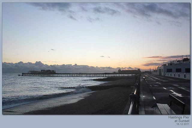 Hastings Pier - 16.12.2011