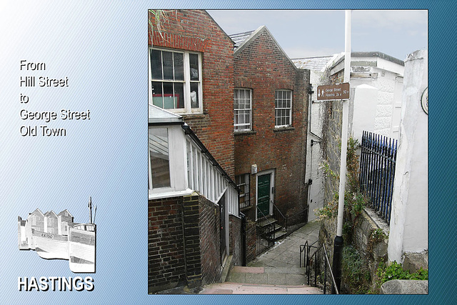 Steps from Hill St to George Street 14 9 2007