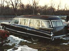 1960 Cadillac Miller-Meteor Hearse