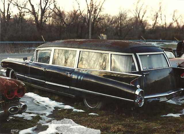 Ipernity 1960 Cadillac Miller Meteor Hearse By 1971 Dodge Charger