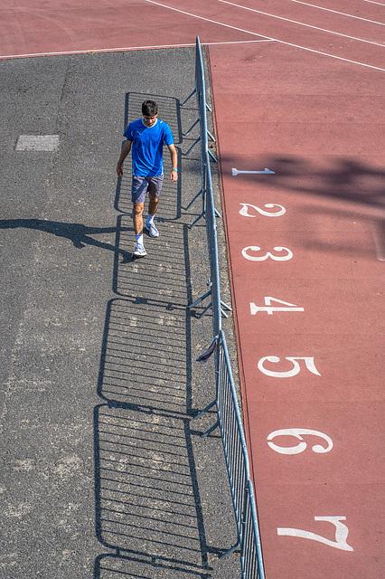 Track, near the Stade de France, Paris, 12 July 2013