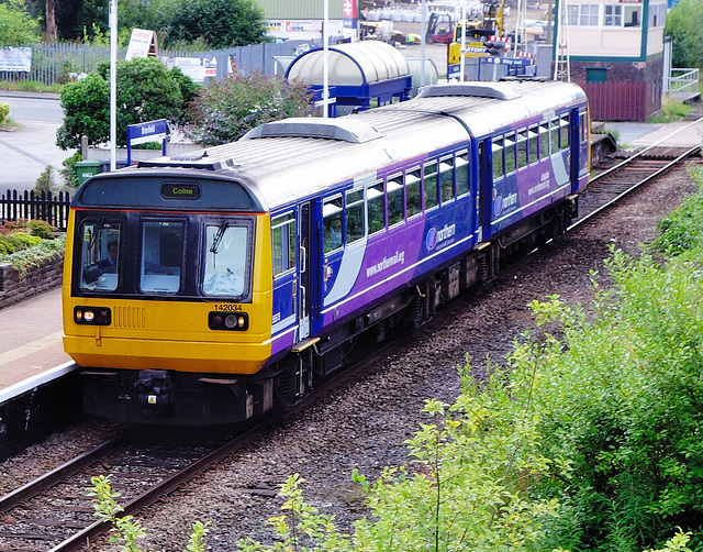 """Northern Rail"" train."