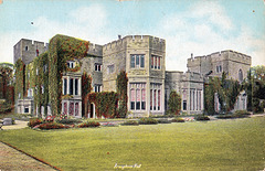 Brougham Hall, Cumbria (now mostly demolished) - Garden Facade