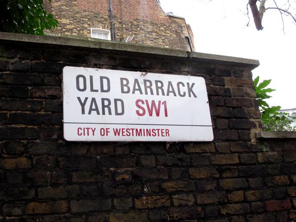 Old Barrack Yard SW1