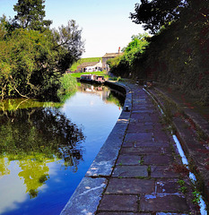 Leeds-Liverpool canal at Foulridge.