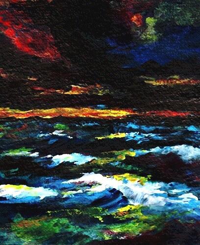 Nightfall at Sea