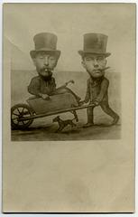 Two Men and a Wheelbarrow