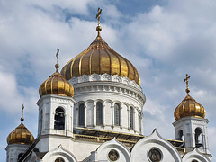 P7130716ac Moscow Cathedral of Christ the Savior Golden Domes