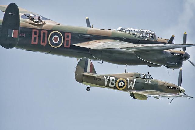 Lancaster & Hurricane. edit