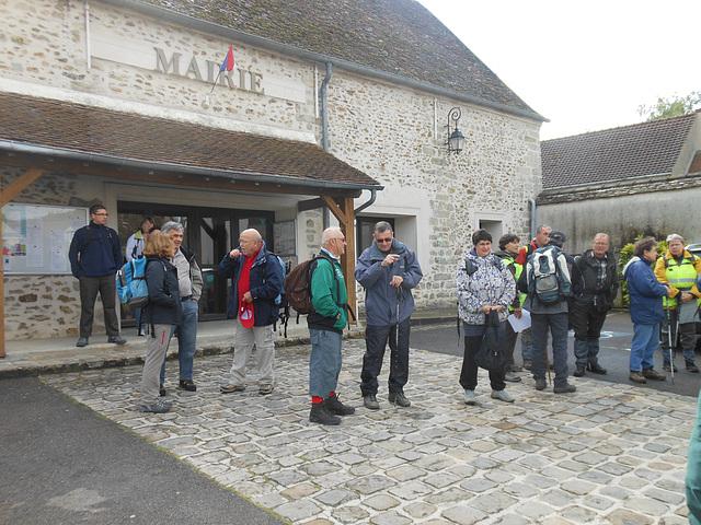 Randonnée Bombon-La Chapelle Gauthier-Bombon - 25/05/2013