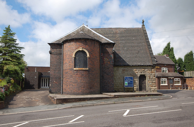 Saint Martin's Church, Talke, Staffordshire