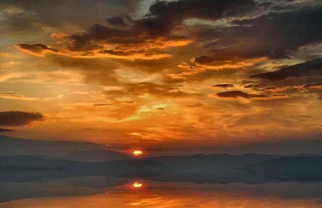 Dornoch Firth Sunset, Scottish Highlands