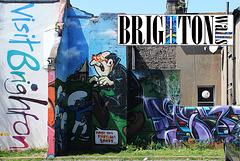 Brighton walls VISIT BRIGHTON - 5.5.2013