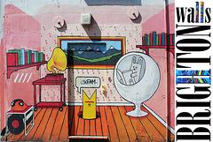 Brighton walls OXFAM- 5.5.2013