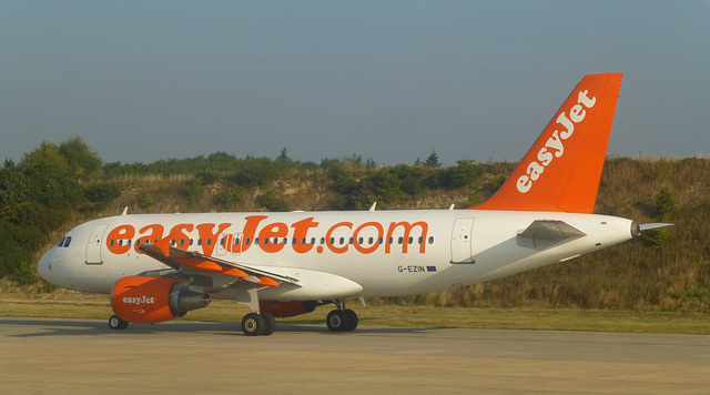 G-EZIN at Gatwick - 4 September 2013