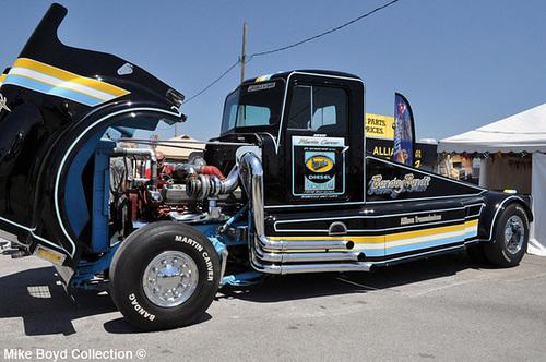 Franks Body Shop >> ipernity: bandag bandit kw w900 drag strip trk truckers ...