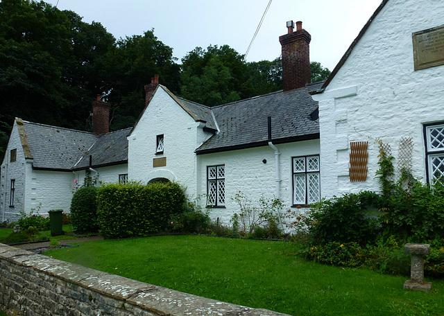 almshouses, llanrhaeadr, clwyd