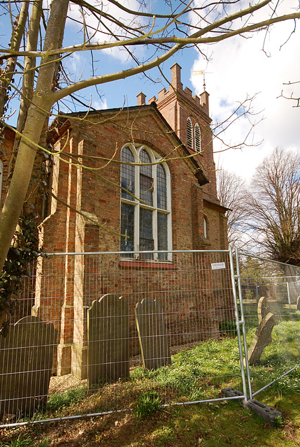 Awaiting demolition, Saint Paul's Church, Eastville , Lincolnshire